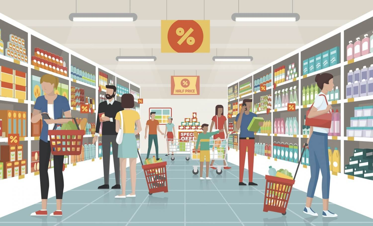Logistics in Retail Industry
